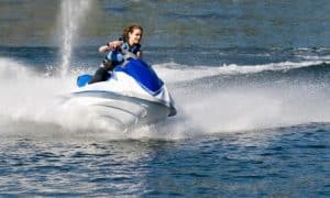Person Jet-skiing | Boating Accident Lawyers - Nassau County, NY
